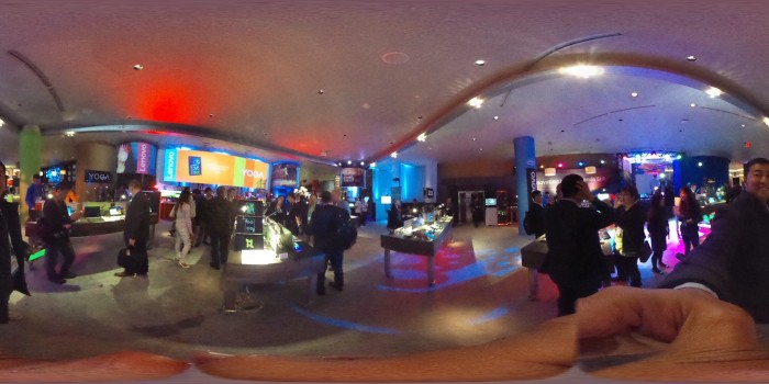 360 area #LenovoCES