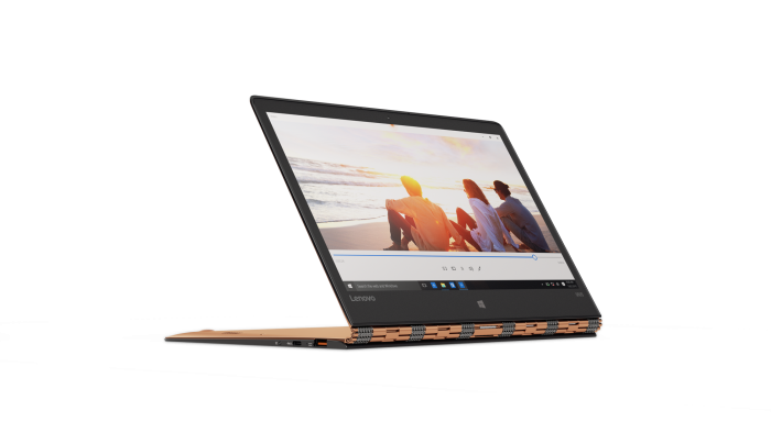YOGA 900S in Gold_Watching a Video in Stand Mode